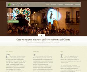 Realizzazione sito web Casal Finocchito
