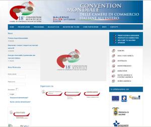 Realizzazione sito web 18esima Convention mondiale delle CCIE all'estero