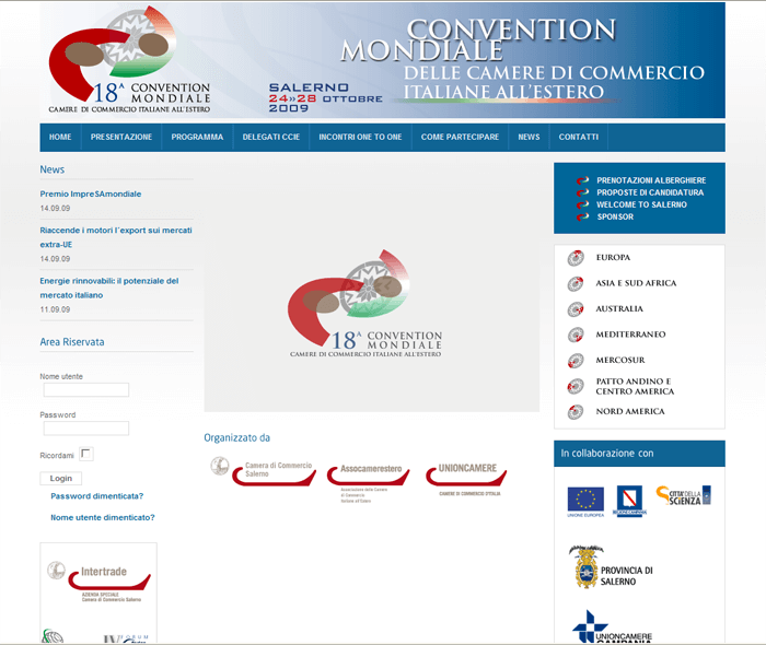 18esima Convention mondiale delle CCIE all'estero