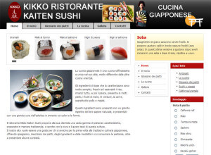 Realizzazione sito internet Ristorante giapponese