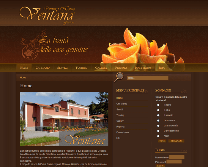 "Agriturismo ""Country House Ventana"""
