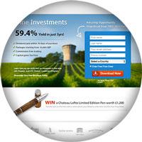 servizi web landing page