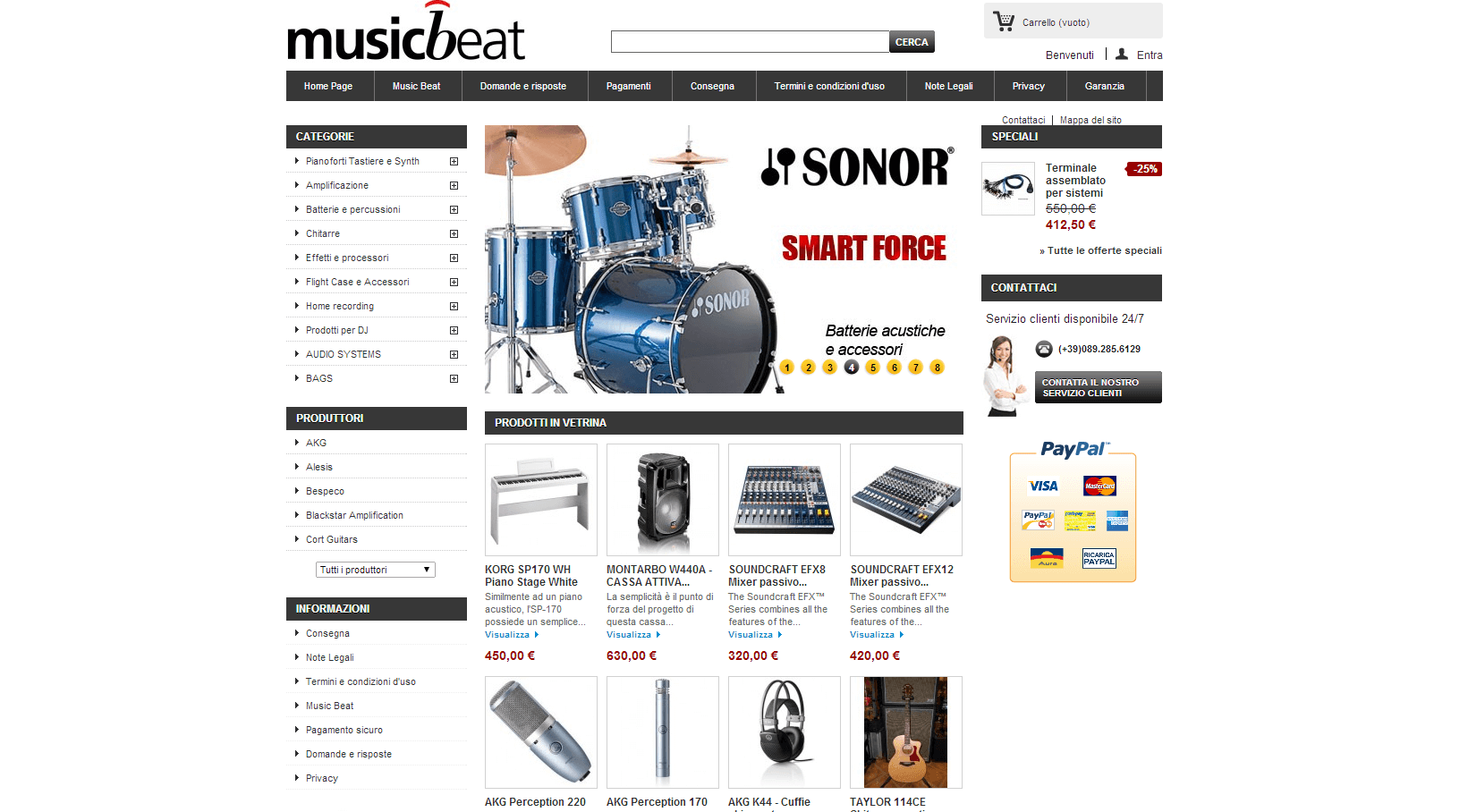 Musicbeat - Strumenti Musicali