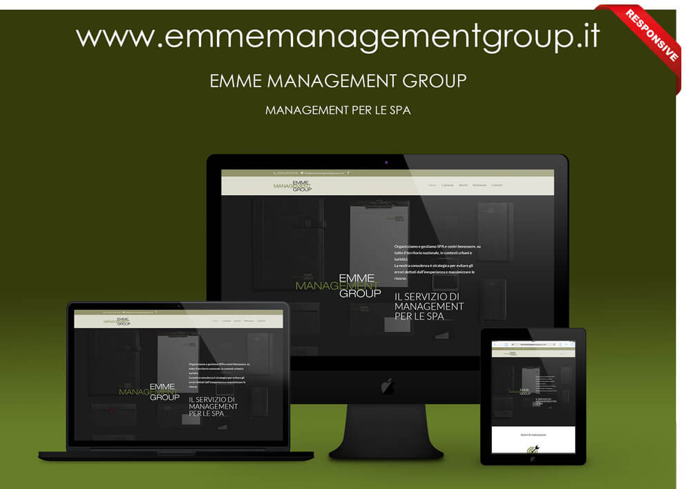 Portfolio sito web emmeManagementGroup