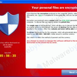 Rimuovere CryptoLocker