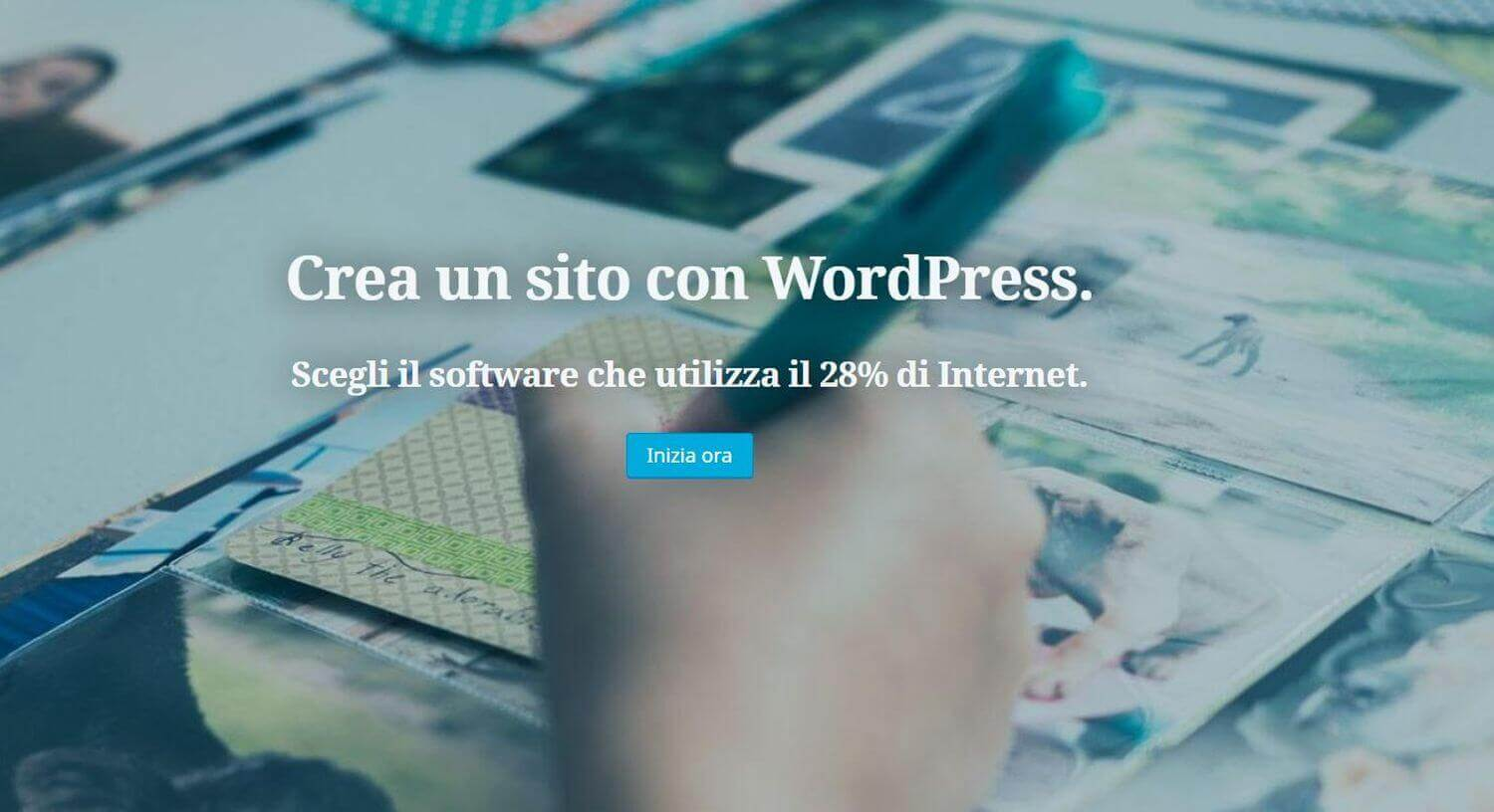 Creare siti web gratis con wordpress