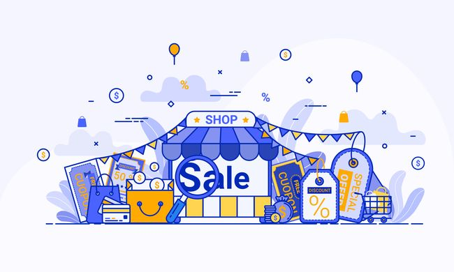 come aprire un negozio online gratis: Una semplice immagine decorativa