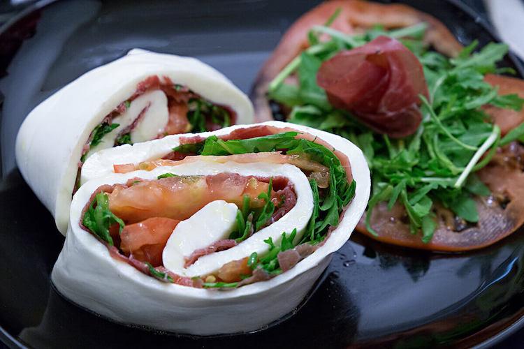 Immagine di una mozzarella per un Servizio Fotografico