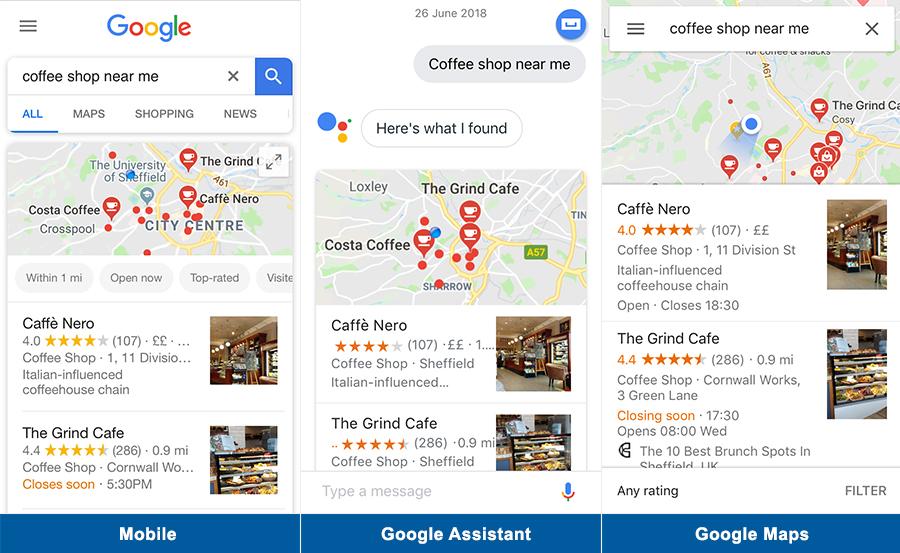 come si presenta la ricerca su Google da dispositivi mobili