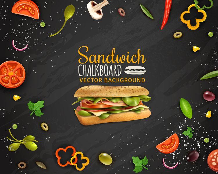 Un sandwich per un sito di ecommerce alimentare